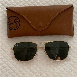 Ray-Ban Caravan aviator sunglasses - size 55